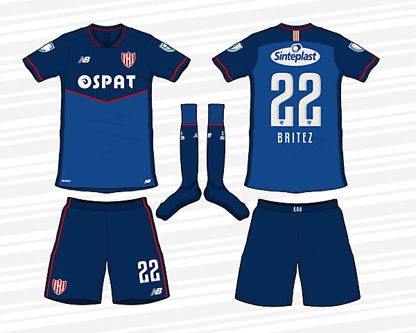 C.A. Unión de Santa Fé - Away Kit