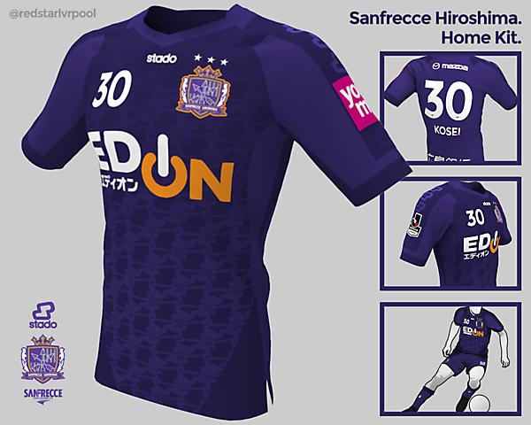 Sanfrecce Hiroshima Home Kit
