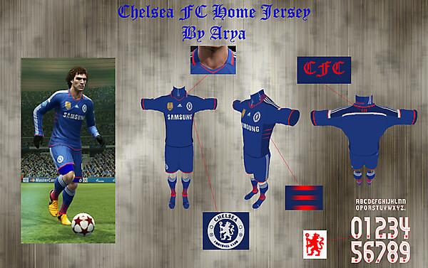 Chelsea FC home shirt