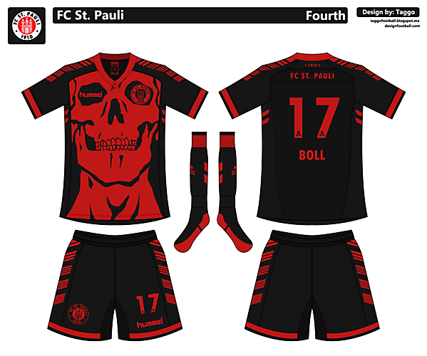 FC St. Pauli Fourth Kit
