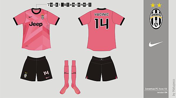 Juventus FC Away version 04