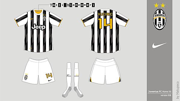 Juventus FC Home version 02