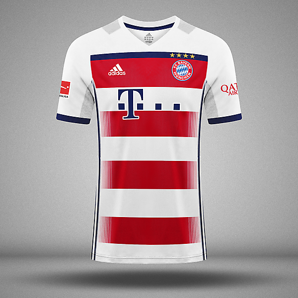 FC Bayern || Adidas || Away