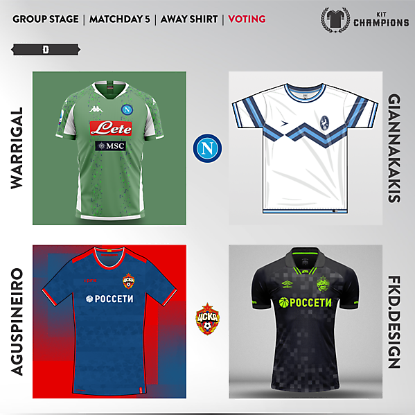 matchday 5 voting - group D