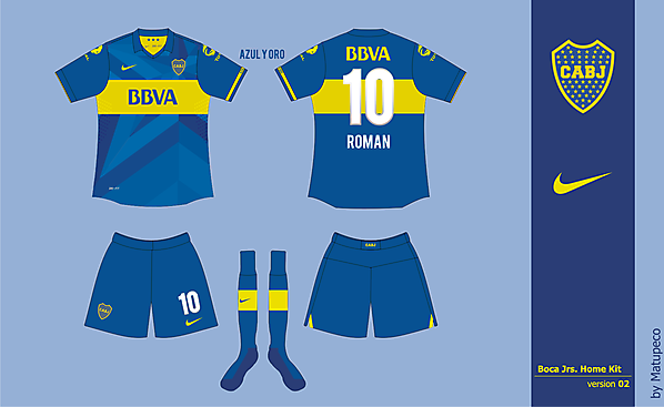 Boca Jrs Home Kit 02