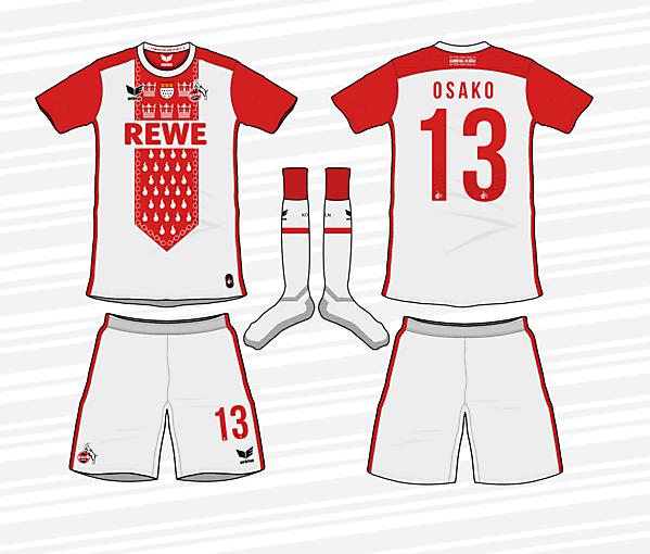 KDC #4: 1. FC Köln Special Karneval kit