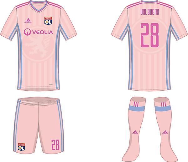 Olympique Lyon - Away kit