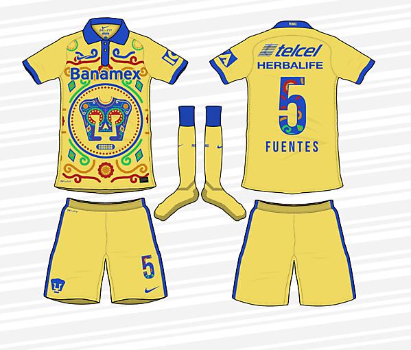 Pumas UNAM - Dia de los Muertos Special Kit