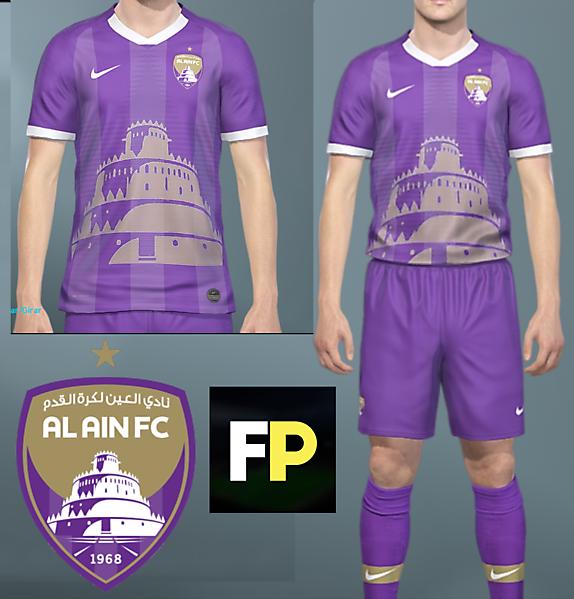 Al Ain Home kit by @feliplayzz