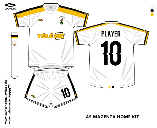 as magenta home kit