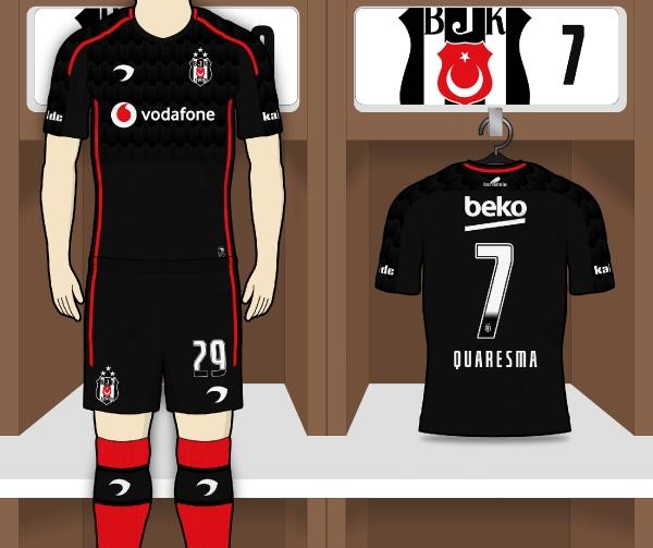 Beşiktaş JK   Away Kit