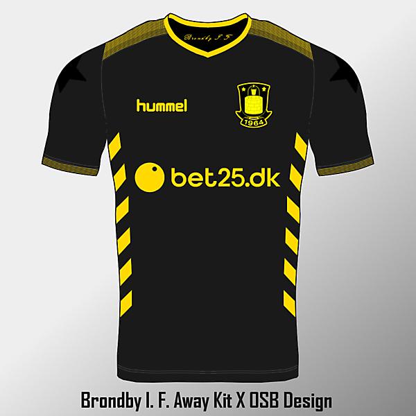 Brondby Away Shirt - KOTW