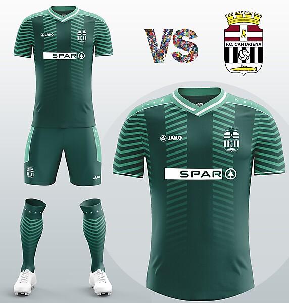 Cartagena FC Away kit