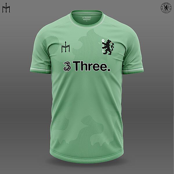 Chelsea X TRIDENTE | Third shirt | KOTW