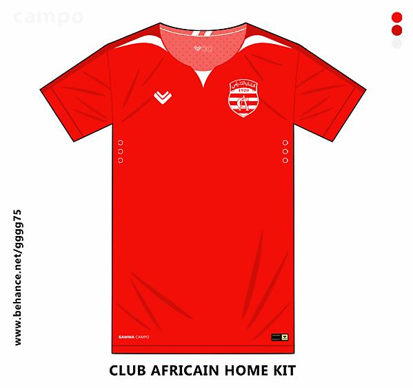 club africain home kit
