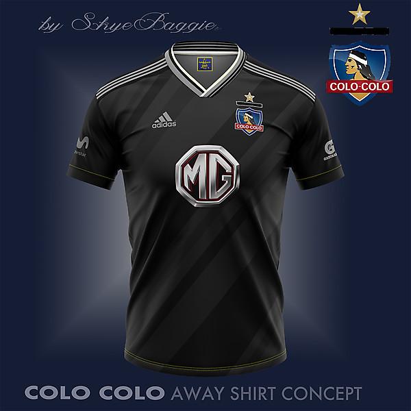Colo Colo  away concept
