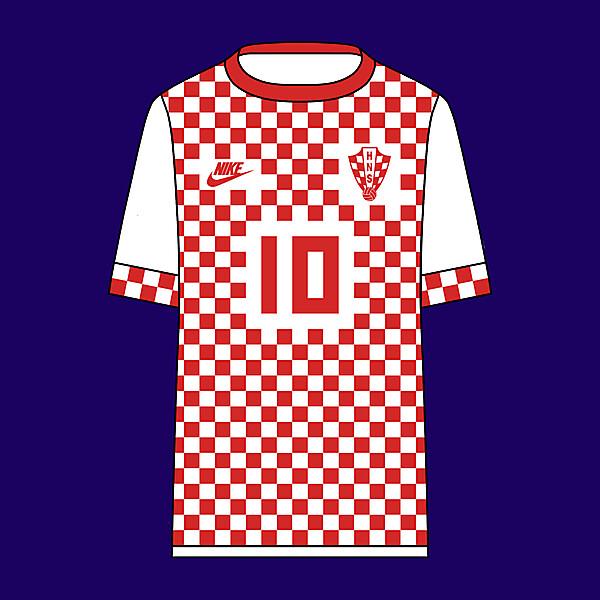 Croatia - Nike - Home Kit