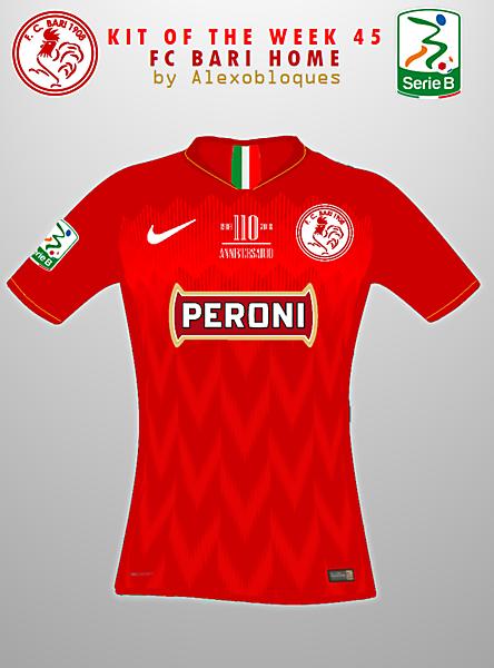 FC Bari Home Jersey