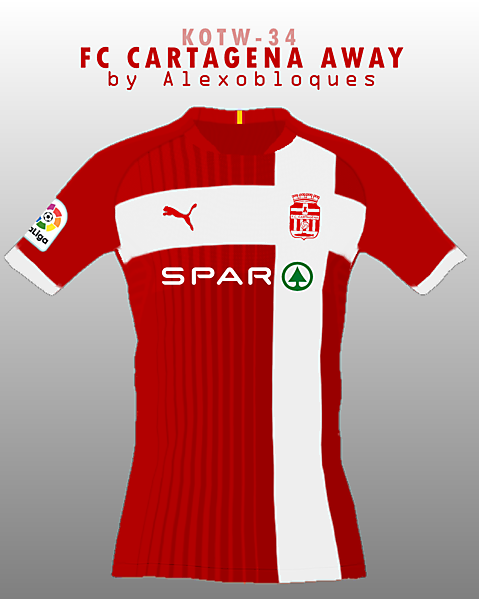 FC Cartagena Away
