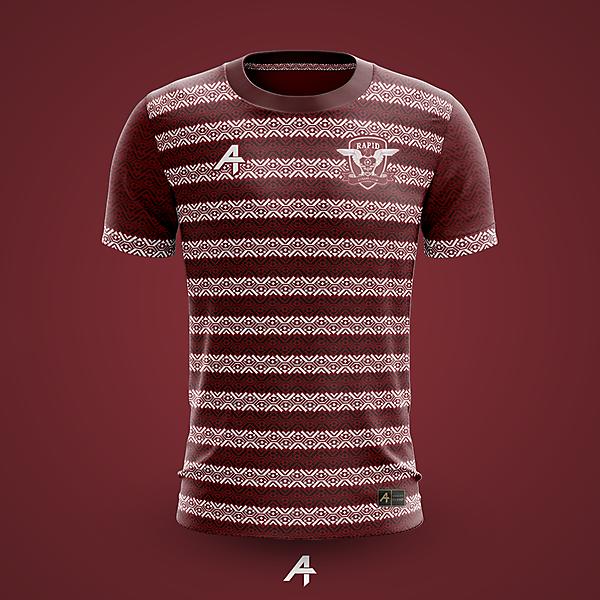 FC Rapid Bucharesti kit concept
