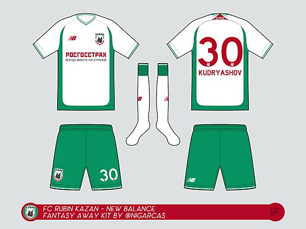 FC Rubin Kazan -Away Kit