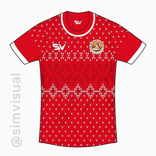 FC Santa Claus Home Shirt
