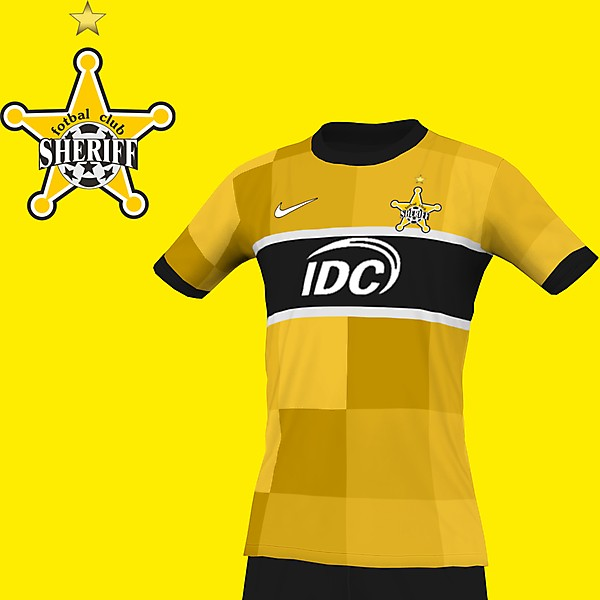 Fotbal Club Sheriff home