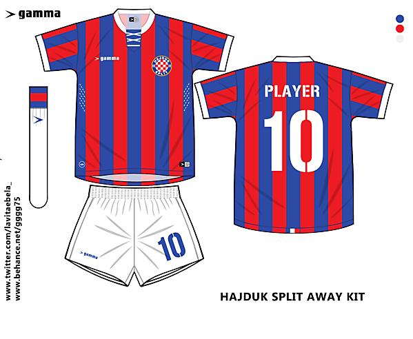 hajduk away kit