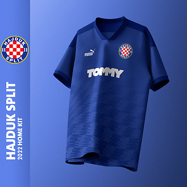 Hajduk Split X Puma   Home kit