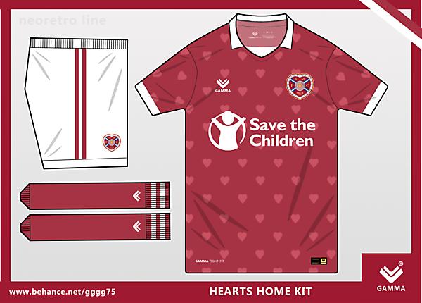 hearts home kit