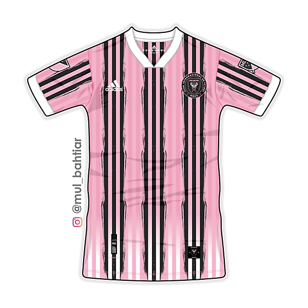 Inter Miami 2020 Adidas Home Jersey Concept