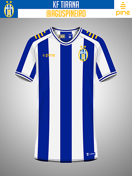 KF Tirana Home Kit by Pine