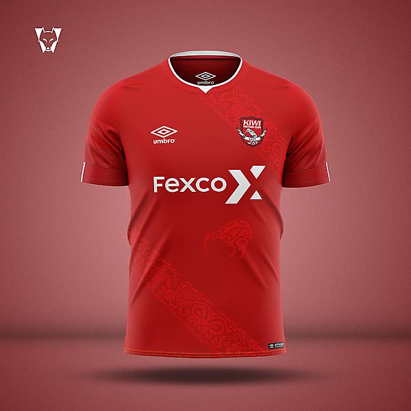 Kiwi FC x Umbro - home