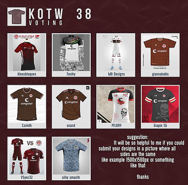 KOTW38 - VOTING