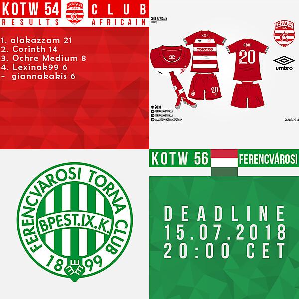 KOTW54/KOTW56