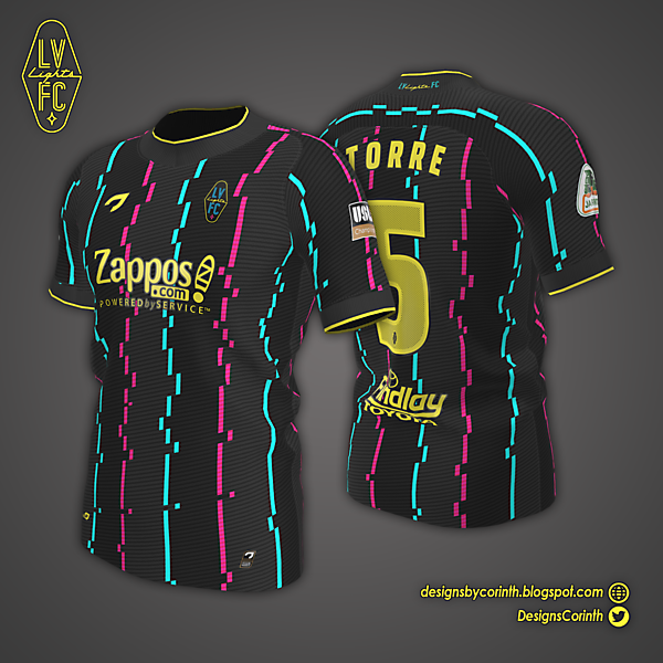 Las Vegas Lights | Home Jersey