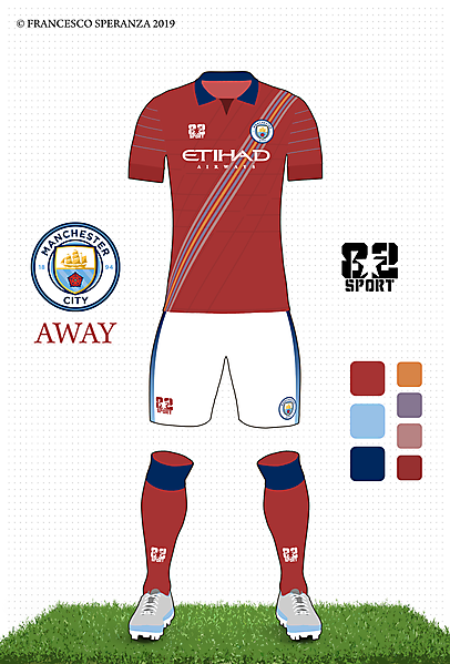 Manchester City Away by 82sport