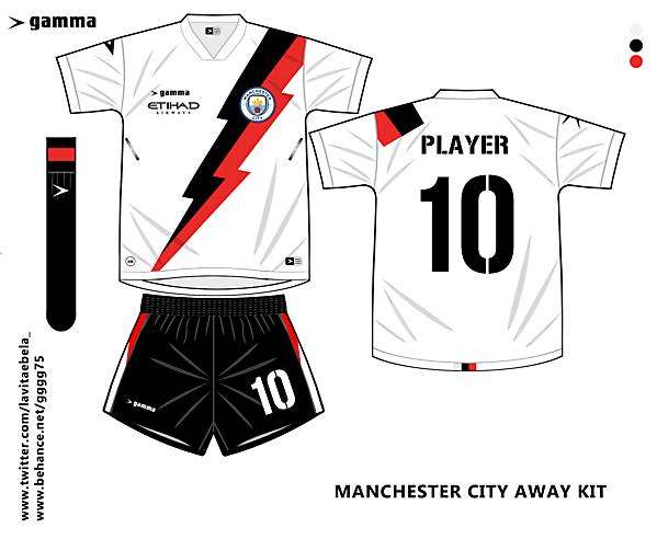 manchester city away kit