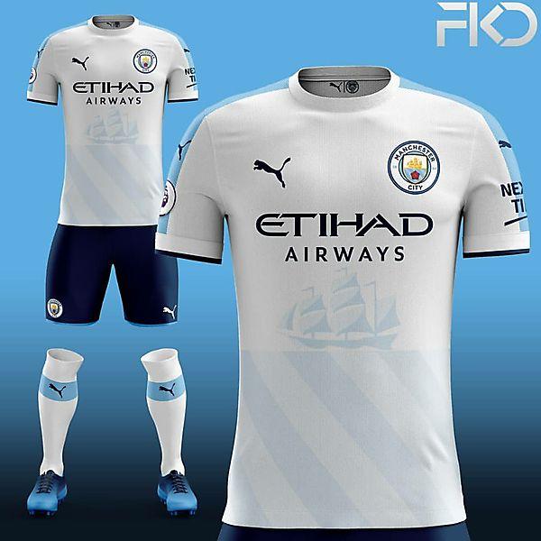 Manchester City Puma Away/Third Concept