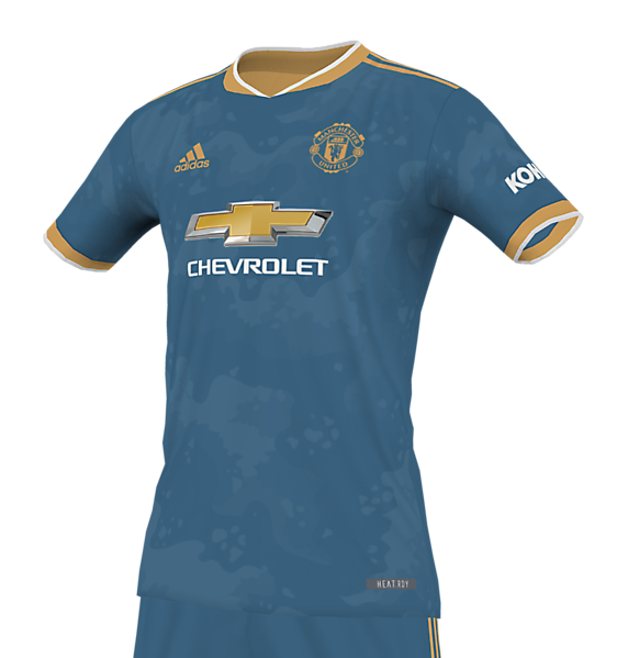 Manchester United Blue Steel/Rose Gold Kit