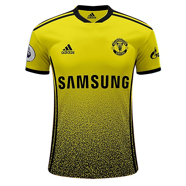 Manchester United third shirt X Samsung and Gazprom