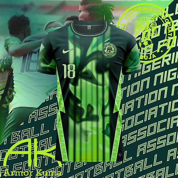Nigeria Nike Home Kit