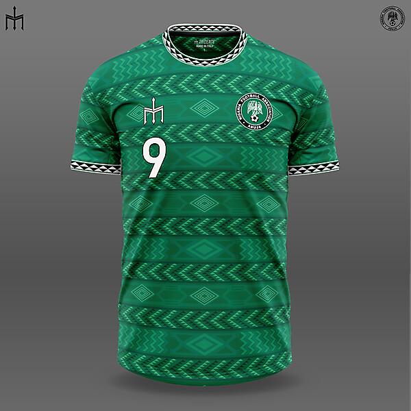 Nigeria X TRIDENTE | Home kit | KOTW