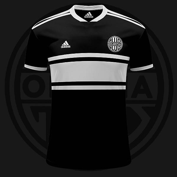 Olimpia Adidas Away Shirt