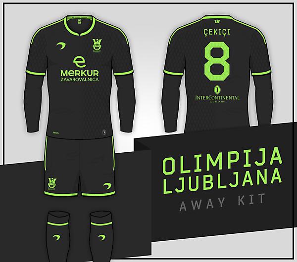 Olimpija Ljubljana   Away Kit