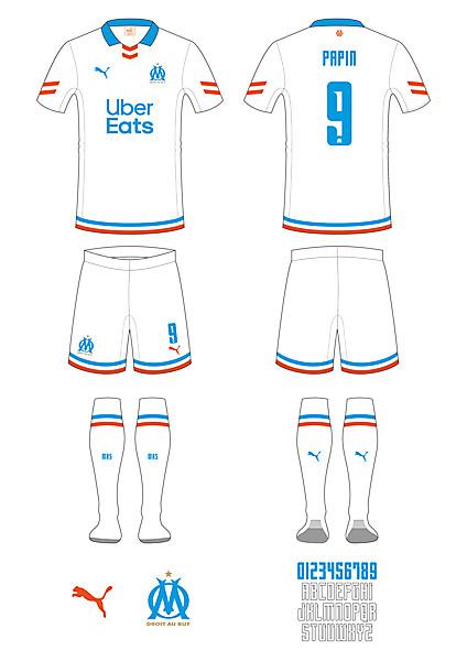 Olympique de Marseille Home Kit