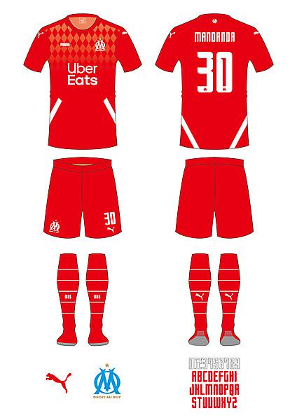 Olympique de Marseille Keeper Kit
