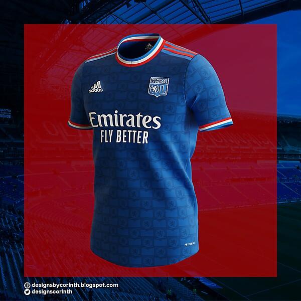 Olympique Lyonnais   Away Shirt
