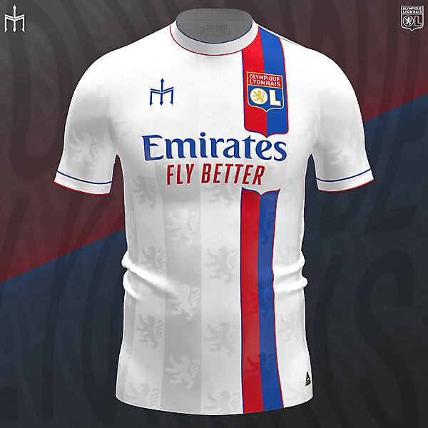 Olympique Lyonnais X TRIDENTE | Home kit | KOTW