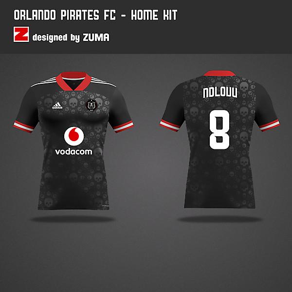Orlando Pirates | Adidas | Home Kit
